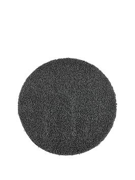 washable-shaggy-circle-rug