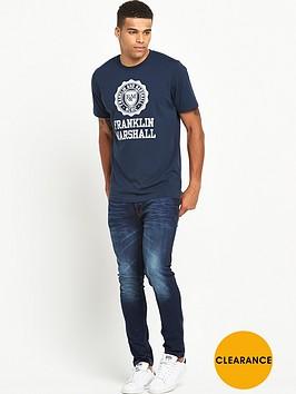 franklin-marshall-large-logo-ss-tshirt