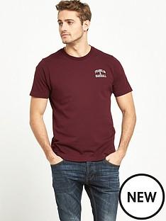 franklin-marshall-small-arch-logo-ss-tshirt
