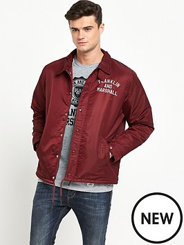 franklin-marshall-lightweight-coach-jacket