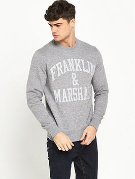 franklin-marshall-arch-logo-crew-sweat