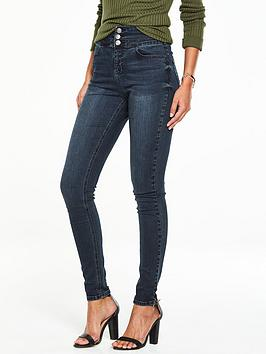 v-by-very-macy-high-waistednbspskinny-jean-lightening-blue