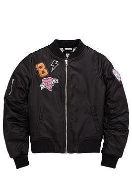 v-by-very-girls-badgenbspbomber-jacket
