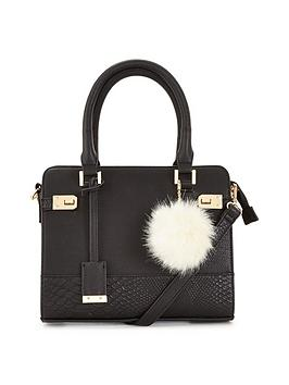 miss-selfridge-mid-twist-lock-bag