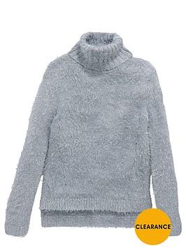 v-by-very-girls-fluffy-metallic-jumper