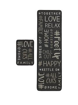 hashtag-home-runner-doormat-set