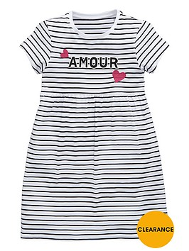 v-by-very-girls-amour-striped-jersey-dress