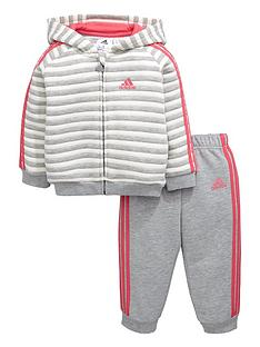 adidas-baby-girl-stripe-fleece-suit