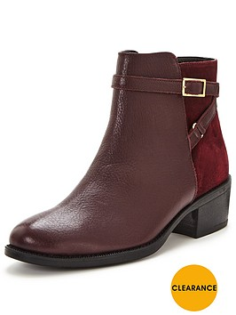 oasis-emily-buckle-ankle-bootnbsp