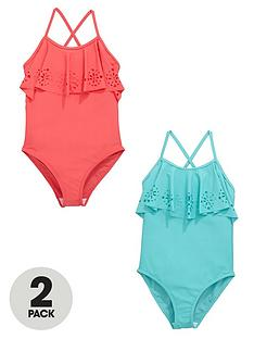 v-by-very-girls-laser-cut-swimsuits-2-pack