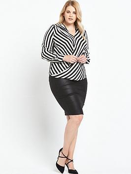 so-fabulous-printed-wrap-blouse