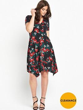 so-fabulous-plunge-wrap-hanky-hem-dress