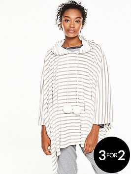 v-by-very-luxe-lounge-poncho-grey-stripe