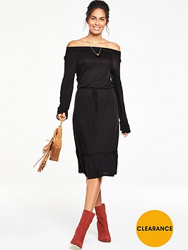v-by-very-off-the-shoulder-tie-waist-jersey-dress