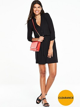 v-by-very-simple-jersey-shirt-dress-black