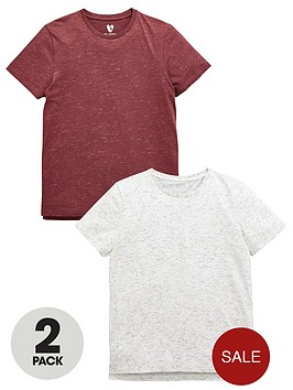 v-by-very-cut-amp-sew-and-marl-t-shirts-2-pack