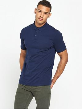 v-by-very-short-sleeve-slub-jersey-polo