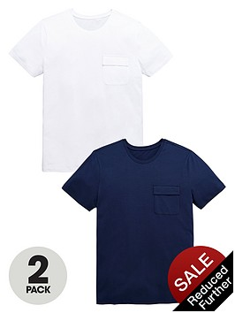 v-by-very-crew-neck-pocket-t-shirts-2-pack