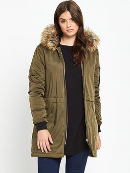 so-fabulous-longline-bomber-jacket-khaki
