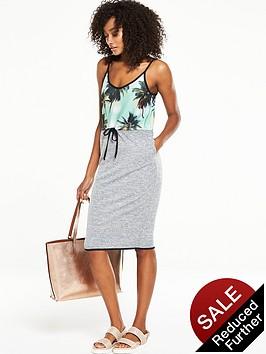v-by-very-tropical-tie-waist-dress