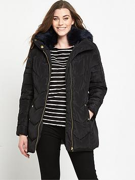 so-fabulous-short-padded-belted-coat-black