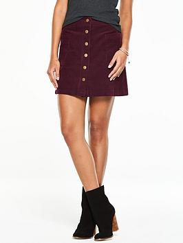 v-by-very-jumbo-cord-skirt-oxblood