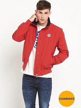north-sails-bernard-fleece-lined-jacket-red