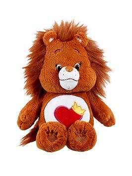 care-bears-medium-plush-with-dvd-brave-heart-lion