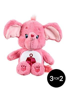 care-bears-medium-plush-with-dvd-lotsa-heart-elephant