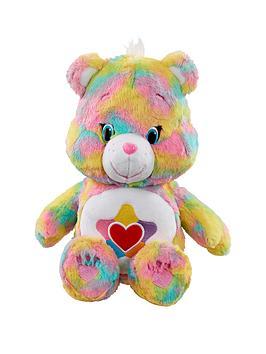 care-bears-medium-plush-with-dvd-true-heart
