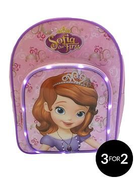 sofia-the-first-led-backpack