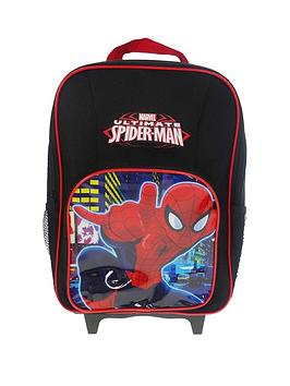 spiderman-reflective-wheeled-bag