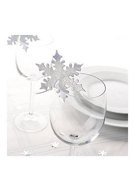 shimmering-snowflake-card-holders-pack-of-20