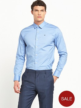 hilfiger-denim-stretch-long-sleeve-shirt