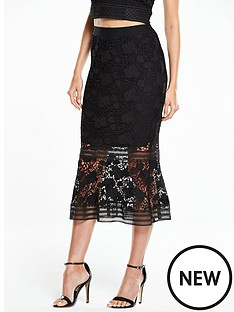 v-by-very-lace-frill-hem-skirt