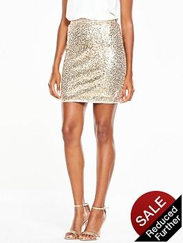 v-by-very-sequin-mini-skirt