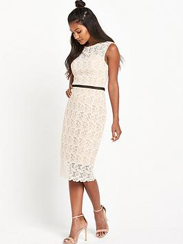 miss-selfridge-lace-and-floral-pencil-dress