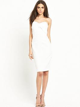 miss-selfridge-bow-bandeau-pencil-dress