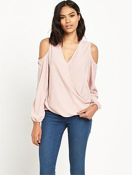 miss-selfridge-cold-shoulder-caminbsptop
