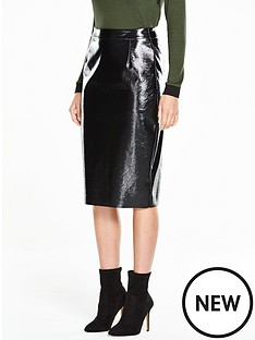 v-by-very-wet-look-pencil-skirt