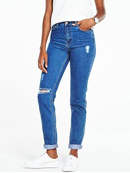 v-by-very-high-waisted-mom-jean-mid-blue