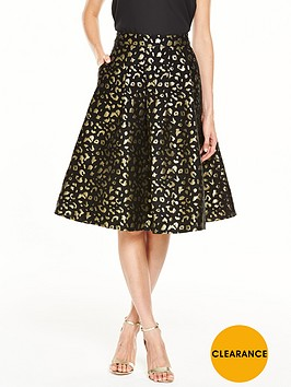 v-by-very-animal-jacquard-full-skirt
