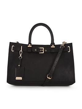 carvela-buckle-detail-tote-bag