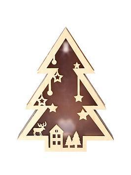 wooden-tree-light-christmas-decoration