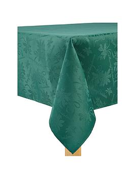 forest-oblong-christmas-tablecloth-in-green-52-x-90-inch