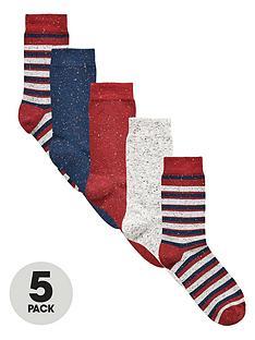 v-by-very-5-pack-neppy-stripe-socks