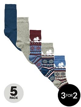 v-by-very-5-pack-christmas-fair-isle-scene-socks