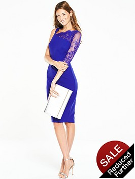 v-by-very-one-shoulder-lace-bodycon-dress