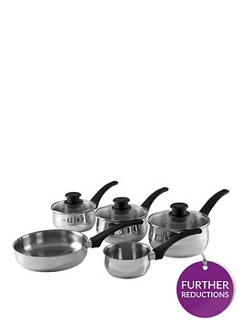 tower-5-piece-stainless-steel-pan-set