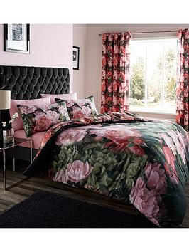 catherine-lansfield-dramatic-floral-eyelet-curtains